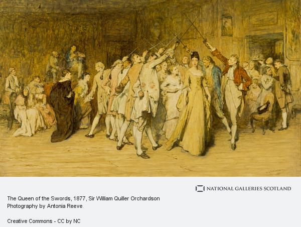 Sir William Quiller Orchardson, The Queen of the Swords
