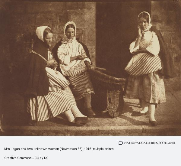 David Octavius Hill, Mrs Logan and two unknown women [Newhaven 35]