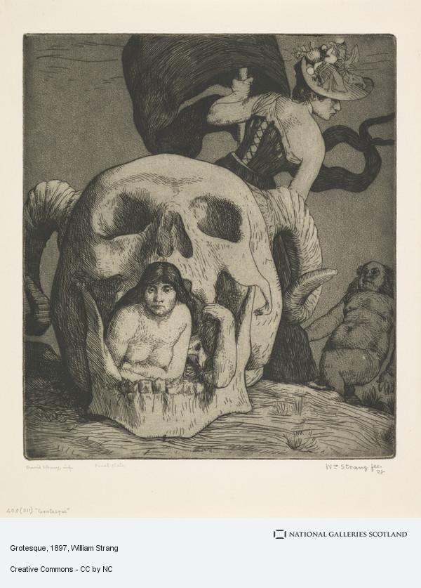William Strang, Grotesque