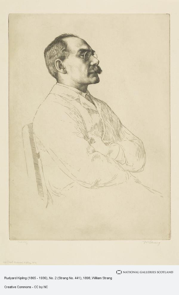 William Strang, Rudyard Kipling (1865 - 1936), No. 2 (Strang No. 441)