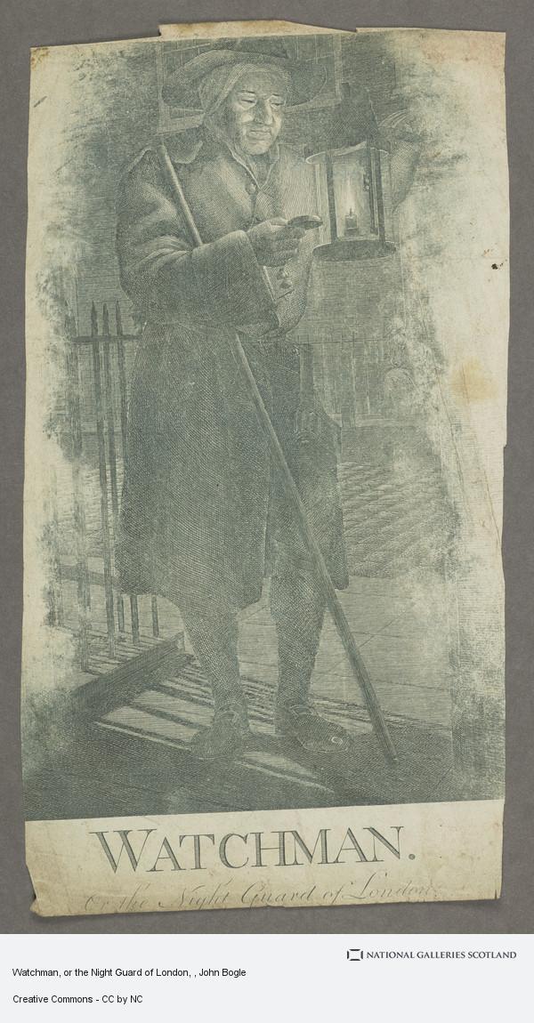 John Bogle, Watchman, or the Night Guard of London