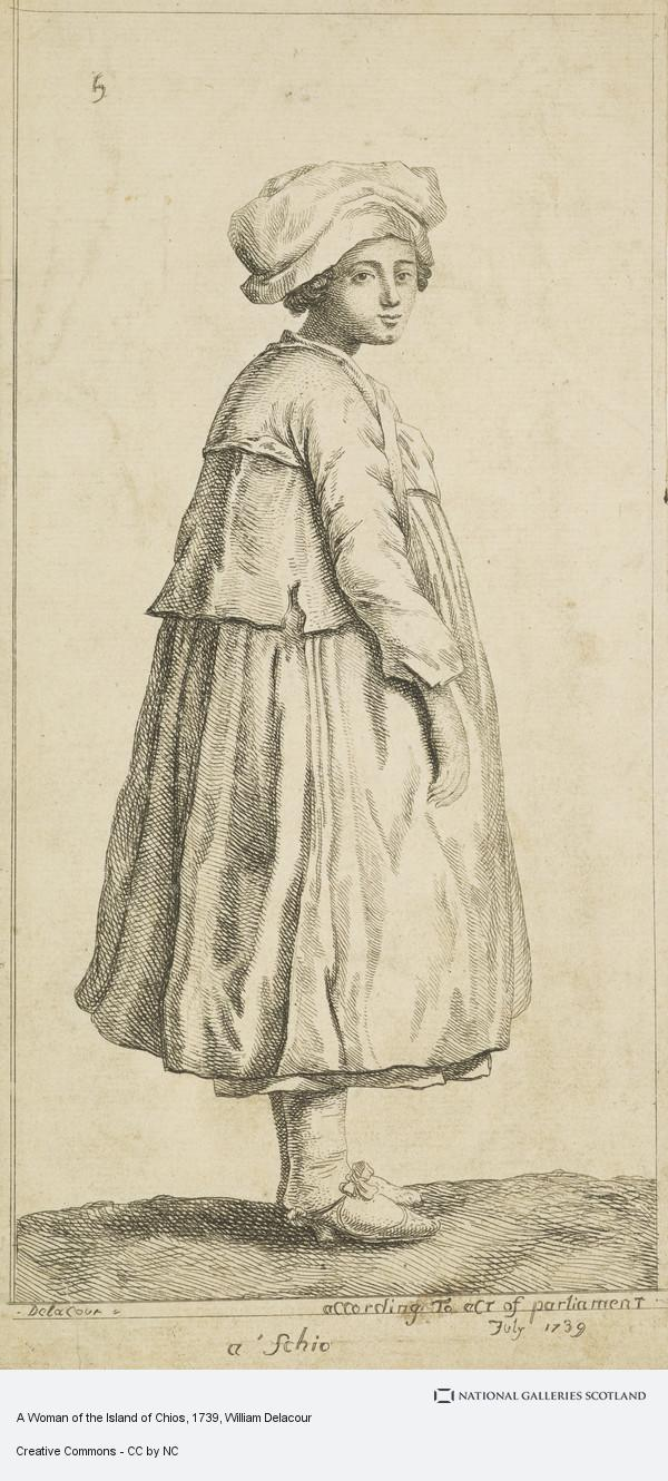 William Delacour, A Woman of the Island of Chios