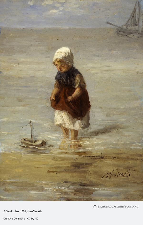 Josef Israëls, A Sea Urchin