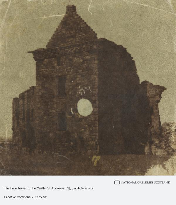 Robert Adamson, The Fore Tower of the Castle [St Andrews 69]