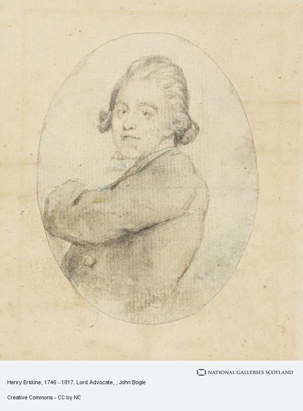 John Bogle, Henry Erskine, 1746 - 1817. Lord Advocate