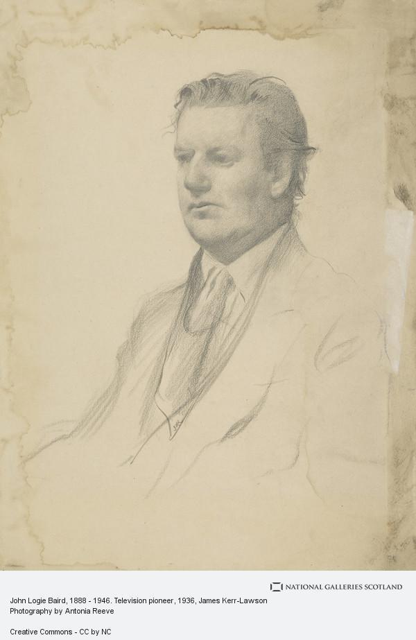 James Kerr-Lawson, John Logie Baird, 1888 - 1946. Television pioneer (1936)