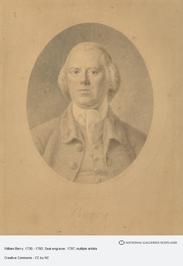Archibald Skirving, William Berry, 1730 - 1783. Seal engraver