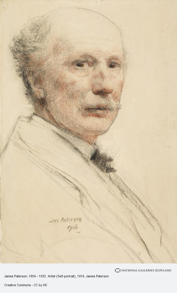 James Paterson, James Paterson, 1854 - 1932. Artist (Self-portrait)