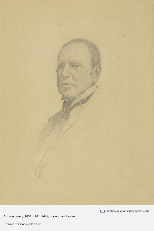 James Kerr-Lawson, Sir John Lavery, 1856 - 1941. Artist