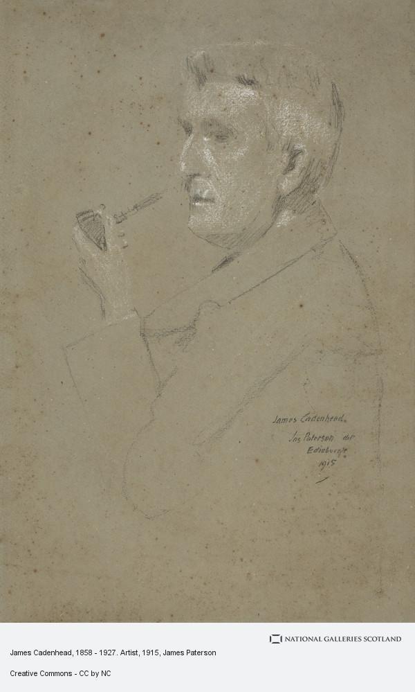 James Paterson, James Cadenhead, 1858 - 1927. Artist