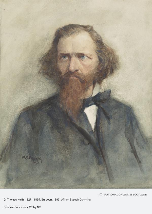 William Skeoch Cumming, Dr Thomas Keith, 1827 - 1895. Surgeon