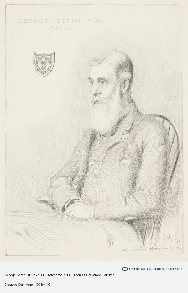 Thomas Crawford Hamilton, George Seton, 1822 - 1908. Advocate