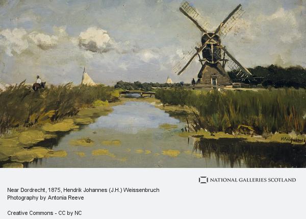 Hendrik Johannes (J.H.) Weissenbruch, Near Dordrecht