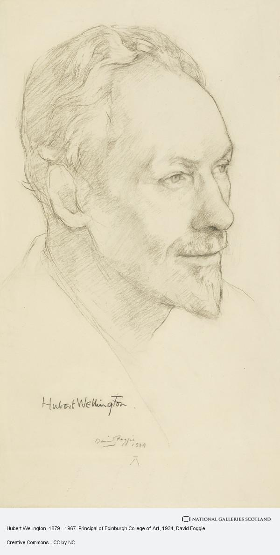 David Foggie, Hubert Wellington, 1879 - 1967. Principal of Edinburgh College of Art
