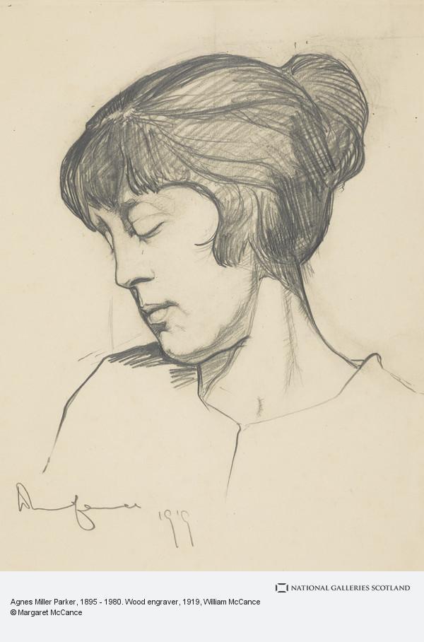 William McCance, Agnes Miller Parker, 1895 - 1980. Wood engraver