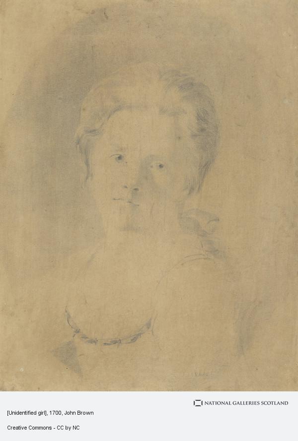 John Brown, [Unidentified girl]