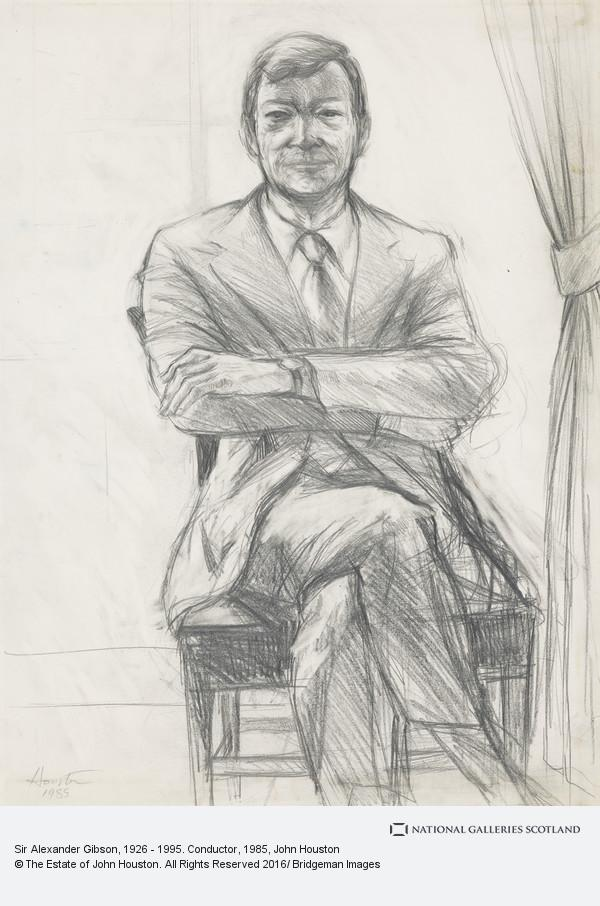 John Houston, Sir Alexander Gibson, 1926 - 1995. Conductor