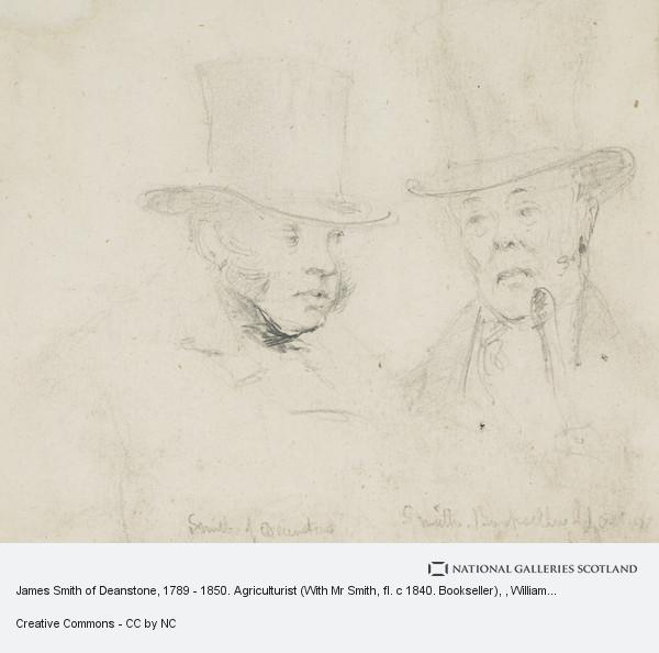 William Home Lizars, James Smith of Deanstone, 1789 - 1850. Agriculturist (With Mr Smith, fl. c 1840. Bookseller)