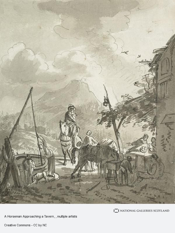 John Knox, A Horseman Approaching a Tavern