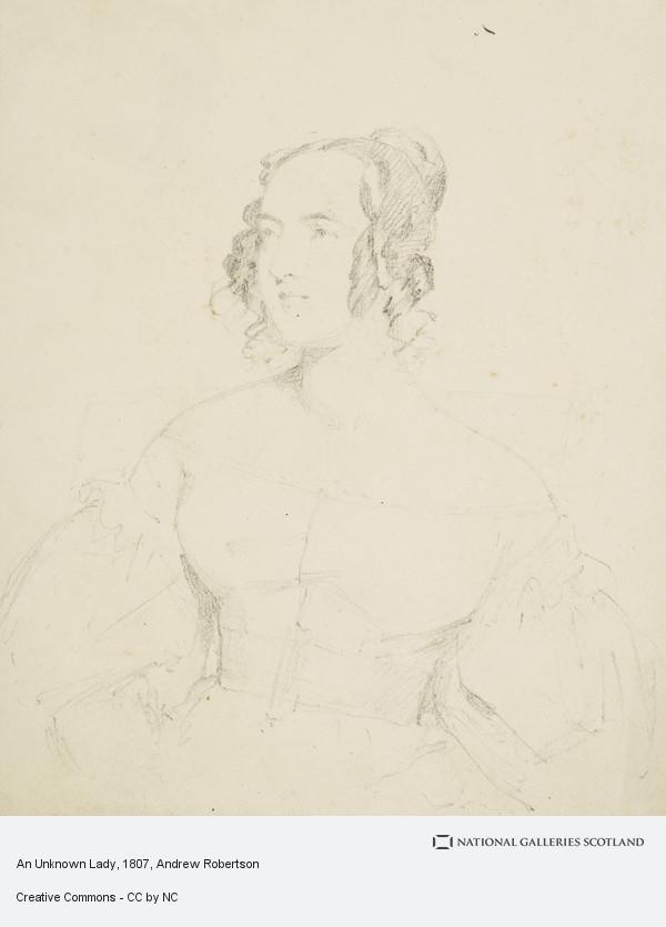 Andrew Robertson, An Unknown Lady