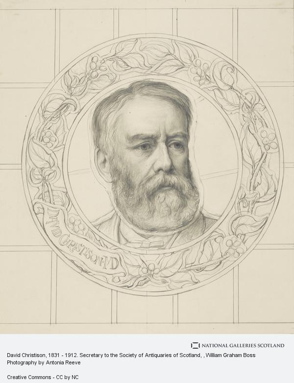 W. Graham Boss, David Christison, 1831 - 1912. Secretary to the Society of Antiquaries of Scotland