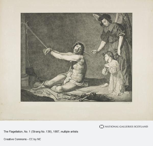 William Strang, The Flagellation, No. 1 (Strang No. 138)