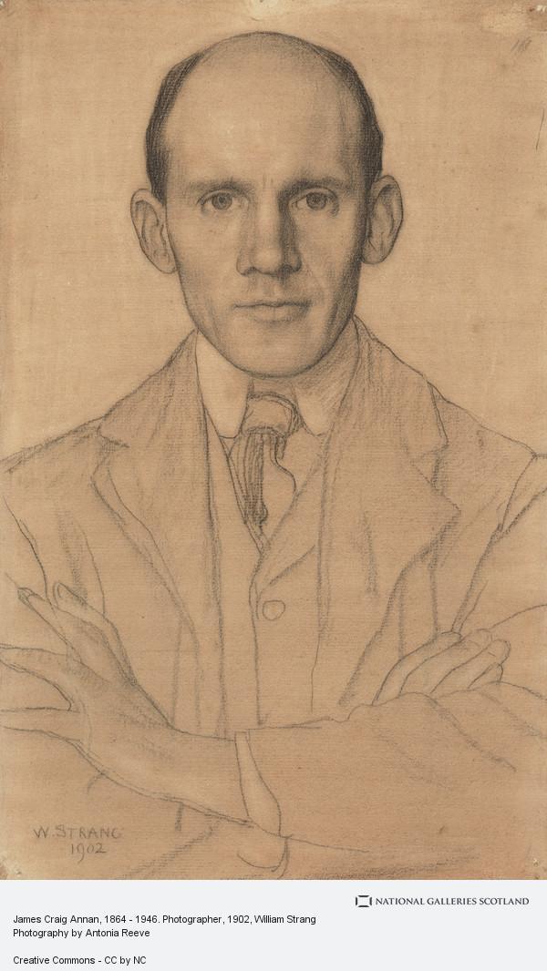 William Strang, James Craig Annan, 1864 - 1946. Photographer