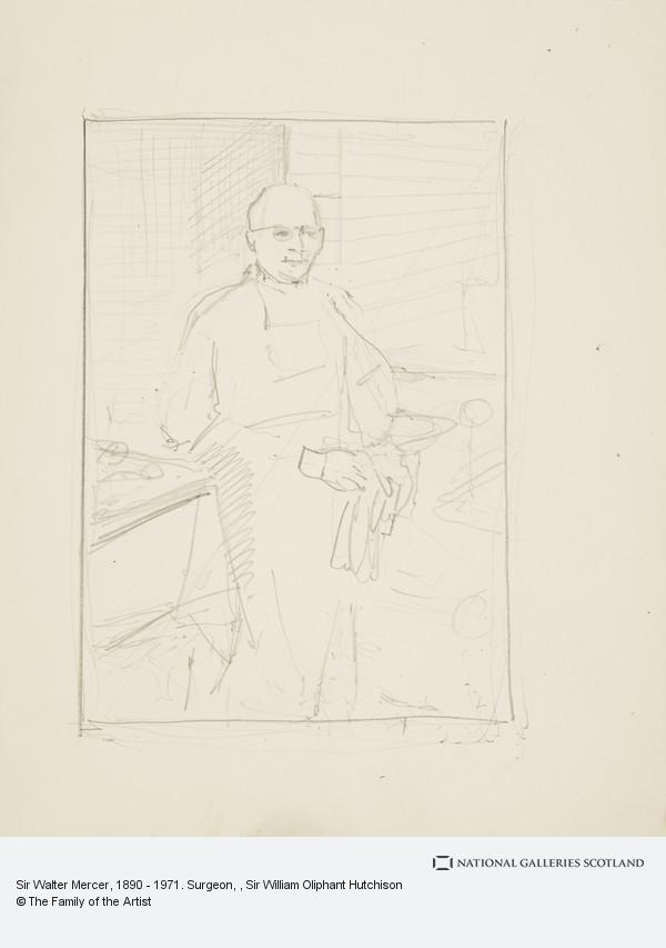 Sir William Oliphant Hutchison, Sir Walter Mercer, 1890 - 1971. Surgeon