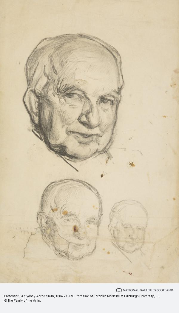 Sir William Oliphant Hutchison, Professor Sir Sydney Alfred Smith, 1884 - 1969. Professor of Forensic Medicine at Edinburgh University