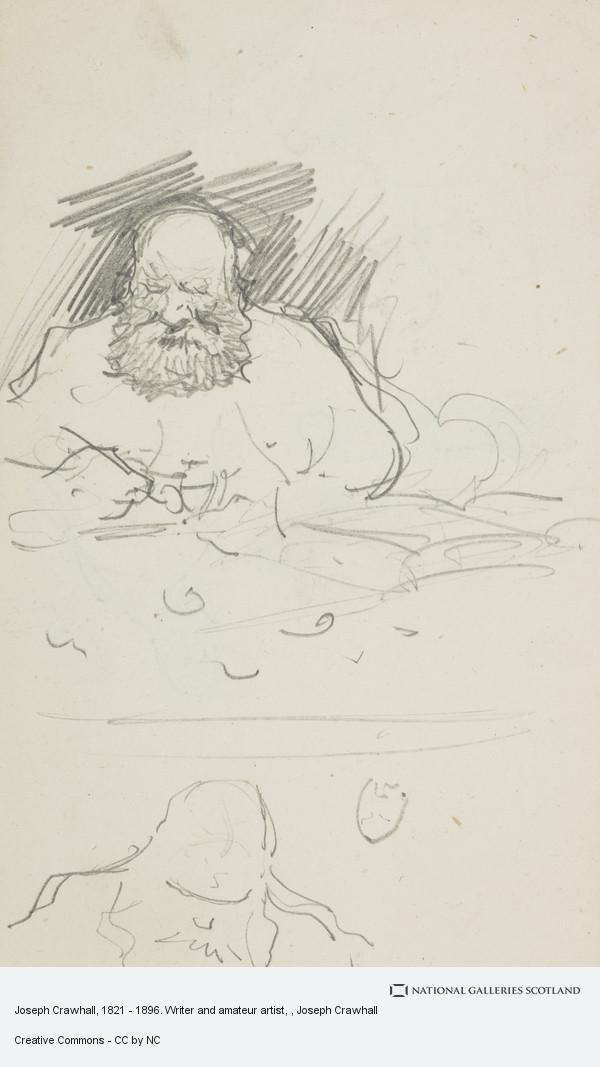 Joseph Crawhall, Joseph Crawhall, 1821 - 1896. Writer and amateur artist