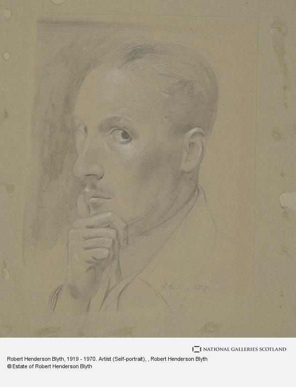 Robert Henderson Blyth, Robert Henderson Blyth, 1919 - 1970. Artist (Self-portrait)