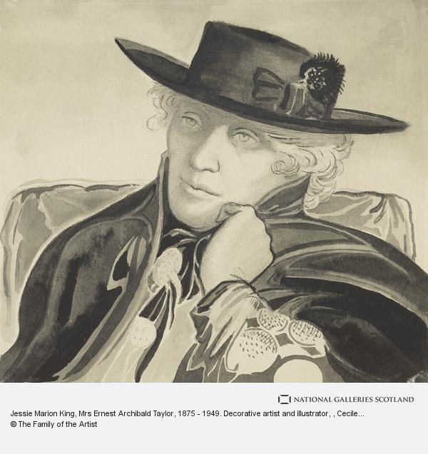 Cecile Walton, Jessie Marion King, Mrs Ernest Archibald Taylor, 1875 - 1949. Decorative artist and illustrator