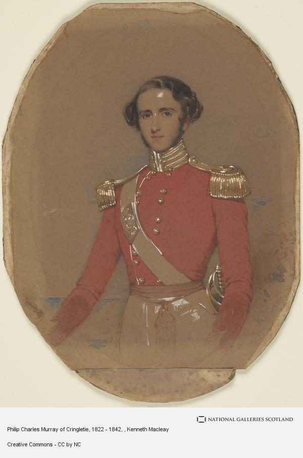 Kenneth Macleay, Philip Charles Murray of Cringletie, 1822 - 1842
