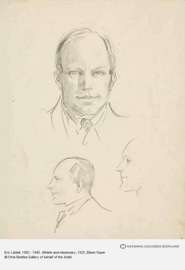 Eileen Soper, Eric Liddell, 1902 - 1945. Athlete and missionary (About 1925)