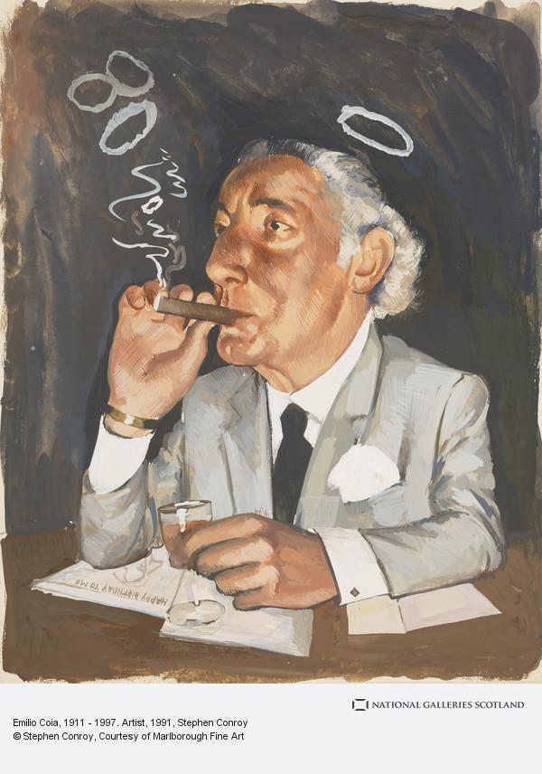 Stephen Conroy, Emilio Coia, 1911 - 1997. Artist