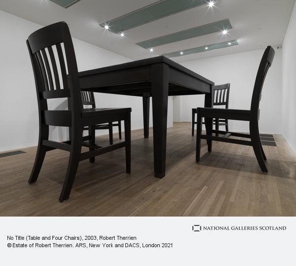 Robert Therrien, No Title (Table and Four Chairs) (2003)