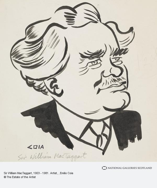 Emilio Coia, Sir William MacTaggart, 1903 - 1981. Artist