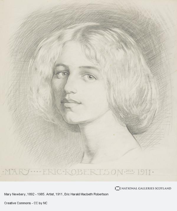 Eric Robertson, Mary Newbery, 1892 - 1985. Artist