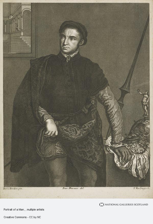 Paris Bordon, Portrait of a Man
