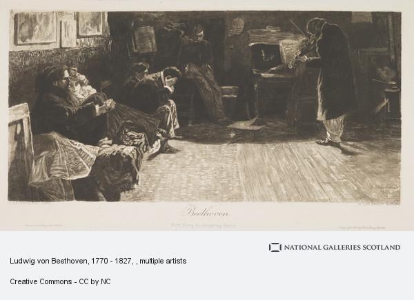 Balestrieri, Ludwig von Beethoven, 1770 - 1827