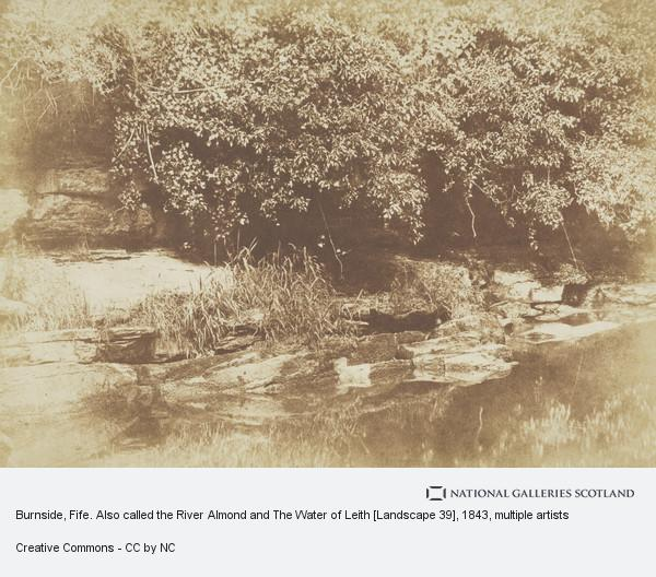 David Octavius Hill, Burnside, Fife. Also called the River Almond and The Water of Leith [Landscape 39]