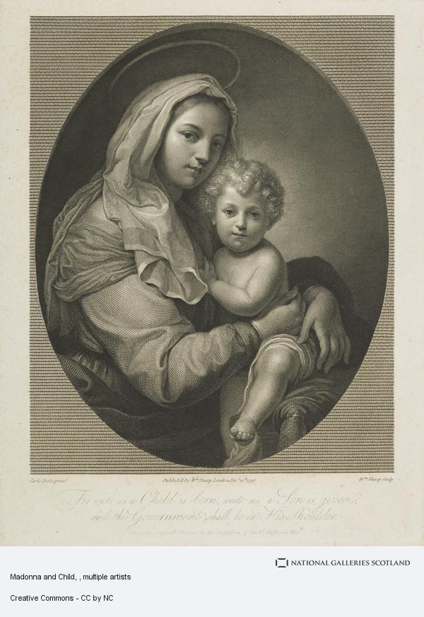 William Sharp, Madonna and Child