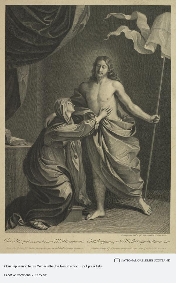 Sir Robert Strange, Christ appearing to his Mother after the Resurrection