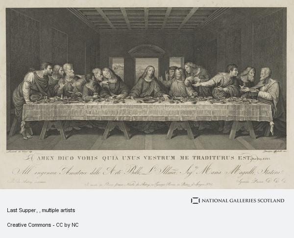 Girolamo Mochetto, Last Supper