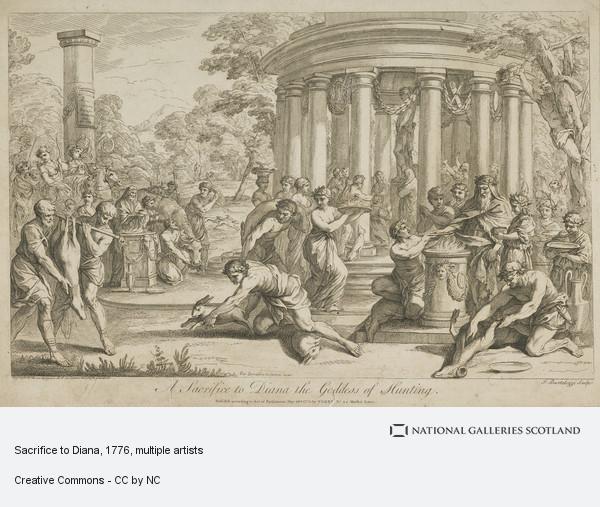 Francesco Bartolozzi, Sacrifice to Diana
