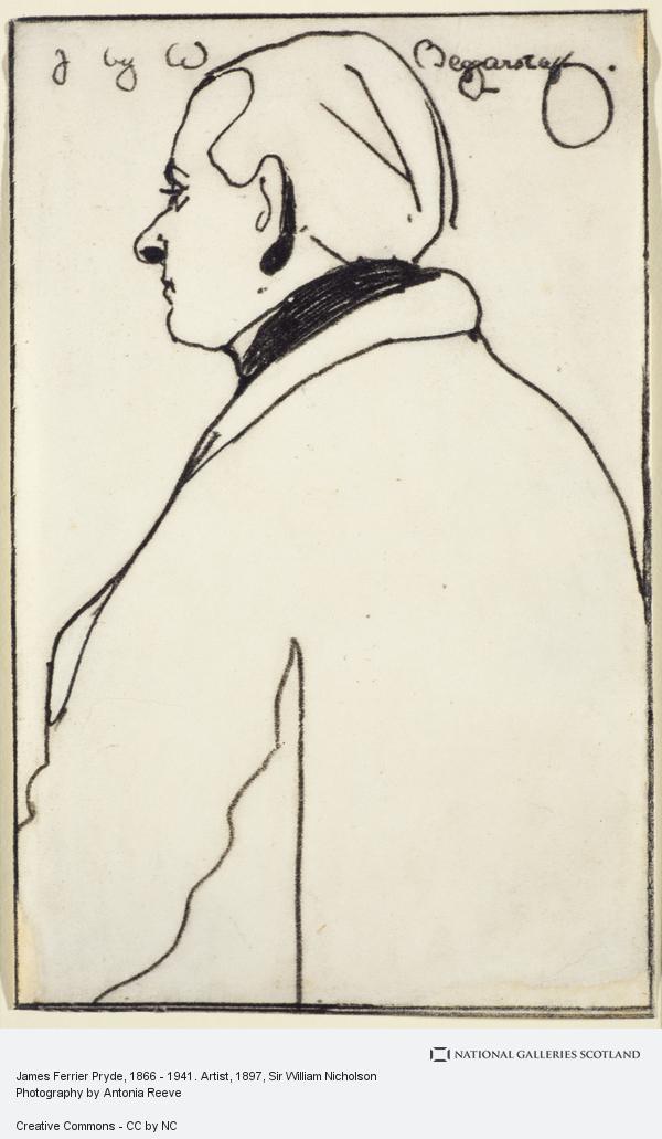 Sir William Nicholson, James Ferrier Pryde, 1866 - 1941. Artist