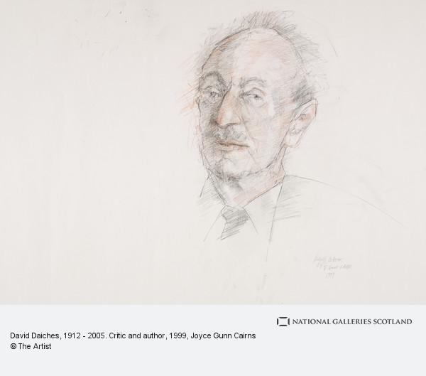 Joyce Gunn Cairns, David Daiches, 1912 - 2005. Critic and author