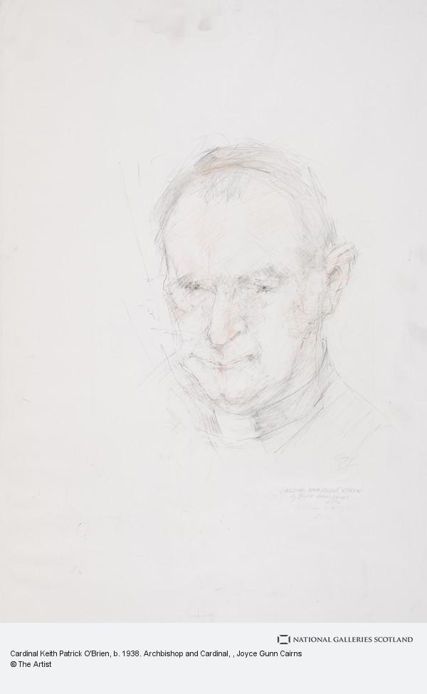 Joyce Gunn Cairns, Cardinal Keith Patrick O'Brien, b. 1938. Archbishop and Cardinal
