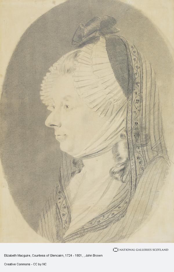 John Brown, Elizabeth Macguire, Countess of Glencairn, 1724 - 1801