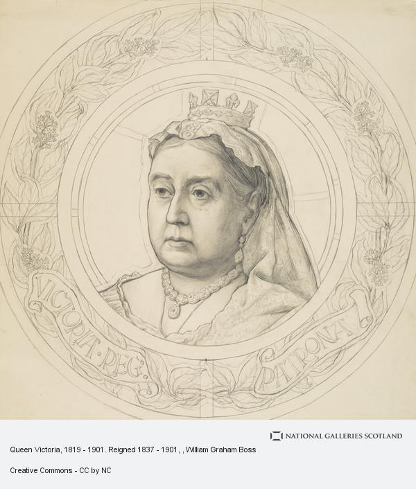 William Graham Boss, Queen Victoria, 1819 - 1901. Reigned 1837 - 1901